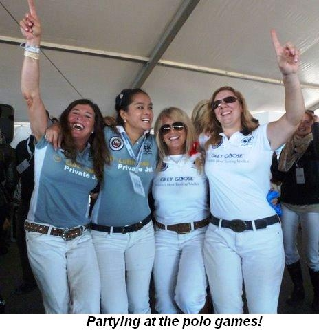 Blog 9 - Partying at the polo games!