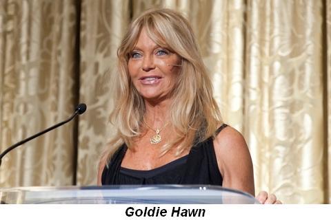 Blog 4 - Goldie Hawn