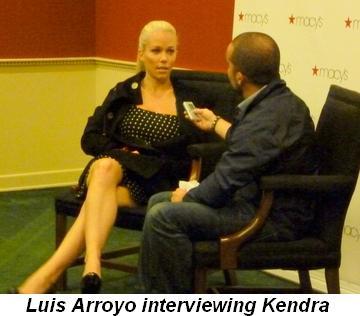 Blog 5 - Kendra interviewed by Luis Arroyo