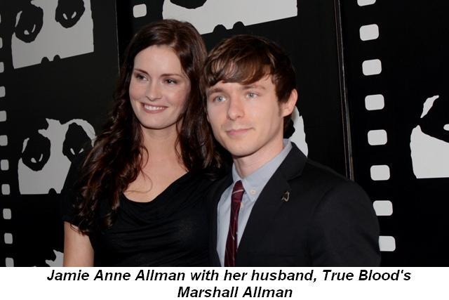 Blog 3 - Jamie Anne Allman with husband, True Blood star, Marshall Allman