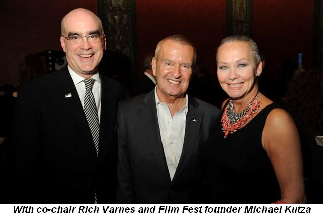 Blog 5 - With co-chair Rich Varnes and Film Fest founder Michael Kutza