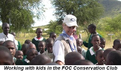 Blog 3 - Working with kids in the FOC Conservation Club