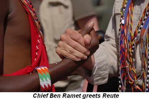Blog 6 - Chief Ben Ramet greets Reute