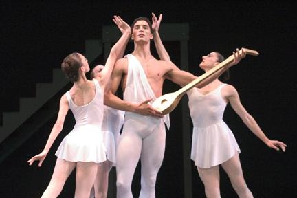 Joffrey Ballet dancers