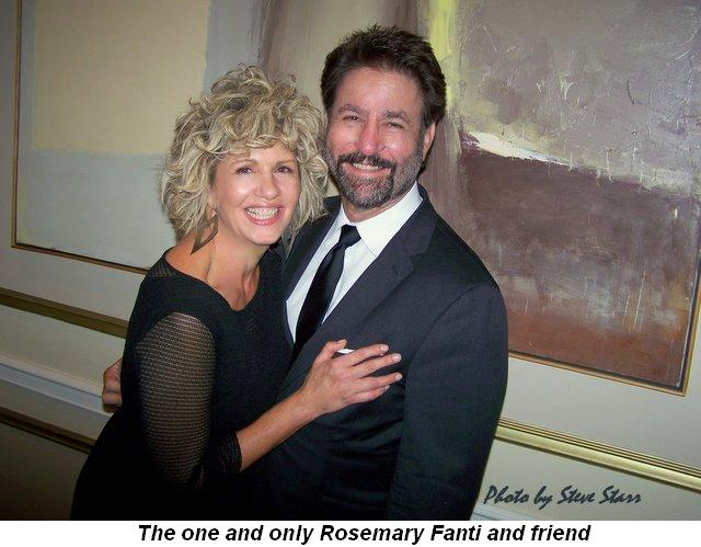 Blog 3 - The one and only Rosemary Fanti and friend