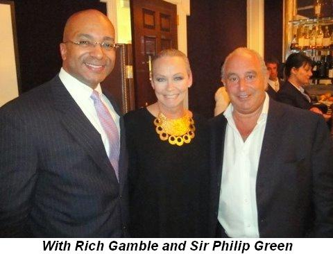 Blog 1 - With Rich Gamble and Sir Philip Green