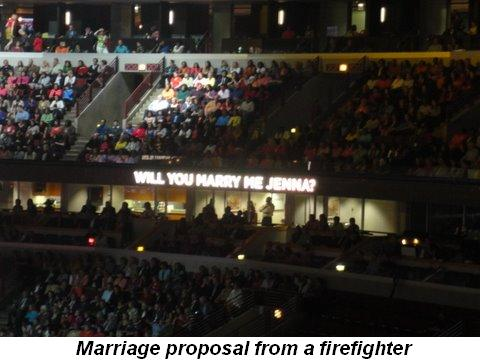 Blog 4 - Marriage proposal from a firefighter
