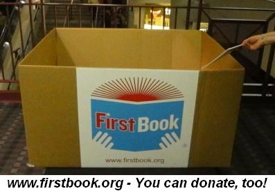 Blog 45 - www.firstbook.org--You can donate too!