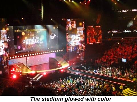 Blog 7 - The stadium glowed with color