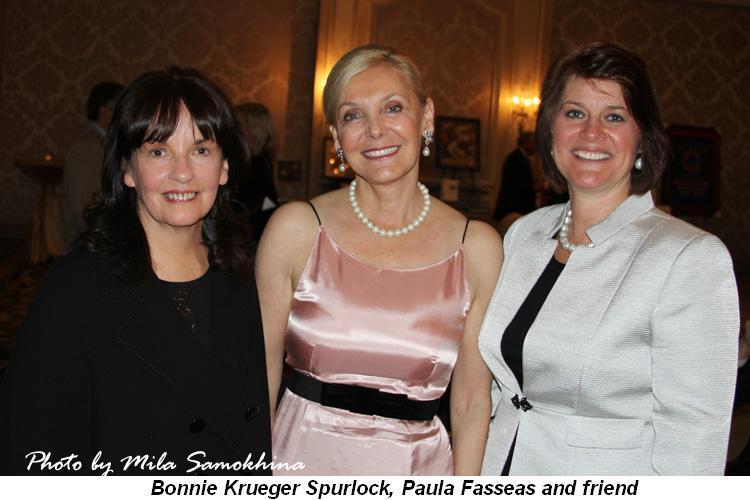 Blog 13 - Bonnie Krueger Spurlock, Paula Fasseas and friend