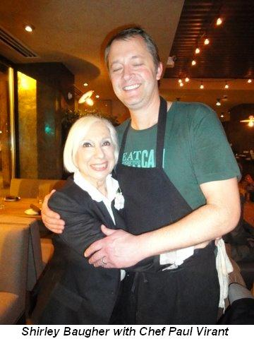 Blog 3 - Shirley Baugher with Chef Paul Virant