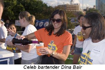 Blog 6 - Celeb bartender Dina Bair