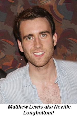 Blog 1 - Matthew Lewis, aka Neville Longbottom!