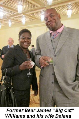 Blog 10 - Former Chicago Bear Big Cat Williams and wife Delana