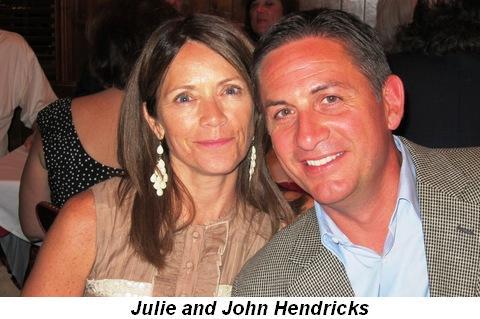Blog 3 - Julie and John Hendricks