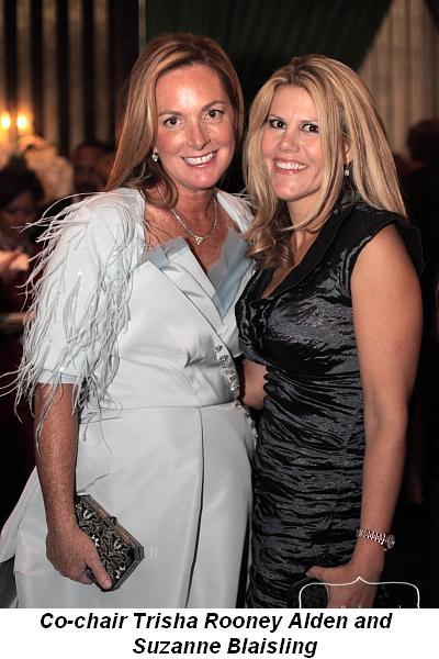 Blog 1 - Co-chair Trisha Rooney Alden with friend