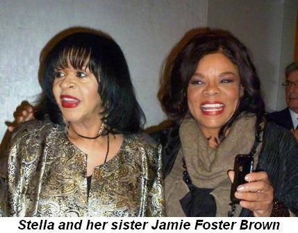 Blog 3 - Stella and her sister, Jamie Foster Brown