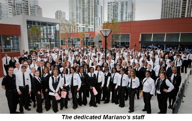 Blog 2 - The dedicated Mariano's staff