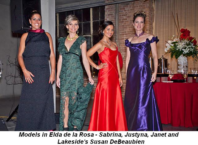 Blog 4 - Models in Elda de la Rosa, Sabrina, Justyna, Janet and Lakeside's Susan DeBeaubien