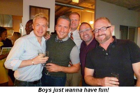 Blog 2 - Boys just wanna have fun!