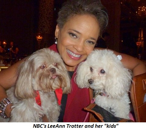"""Blog 7 - NBC's LeeAnn Trotter and her """"kids"""""""