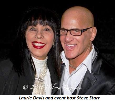 Blog 2 - Laurie Davis and event host Steve Starr