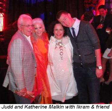Blog 1 - Judd and Katherine Malkin with Ikram and friend