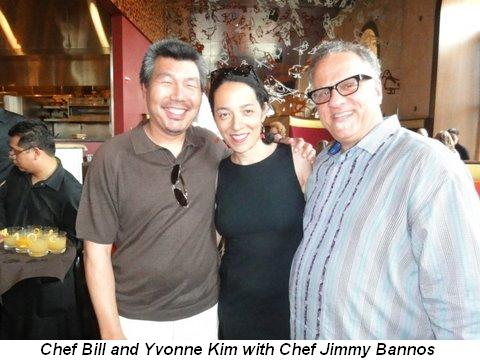 Blog 3 - Chef Bill and Yvonne Kim with Chef Jimmy Bannos