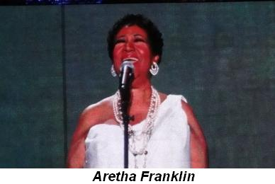 Blog 29 - Aretha Franklin