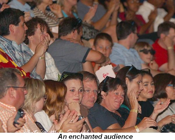 Blog 9 - An enchanted audience