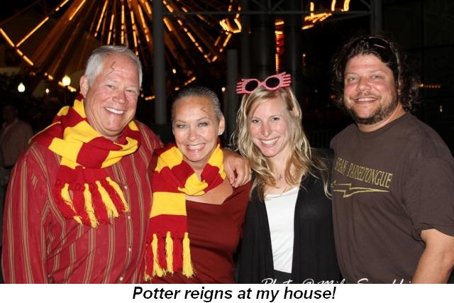 Blog 23 - Pottermania reigns at my house!