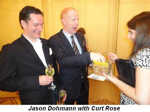 Blog 7 - Jason Dohmann with Curt Rose