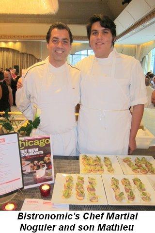 Blog 13 - Bistronomic's Chef Martial Noguier and son Mathieu
