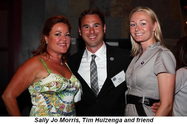 Blog 10 - Sally Jo Morris, Tim Huizenga and friend