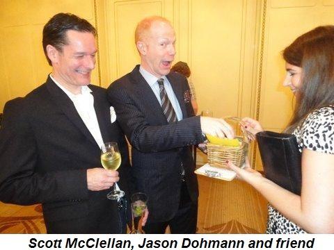 Scott McClellan, Jason Dohmann and friend