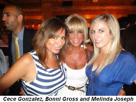 Cece Gonzalez, Bonni Gross and Melinda Joseph