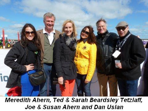 Blog 4 - Meredith Ahern, Ted and Sarah Beardsley Tetzlaff, Joe and Susan Ahern, Dan Uslan