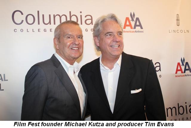 Blog 9 - Film Fest founder Michael Kutza and producer Tim Evans