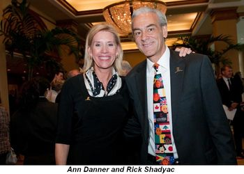 Blog 4 - Ann Danner and St. Jude CEO Rick Shadyac