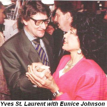 Blog 4 - Yves St. Laurent with Eunice Johnson