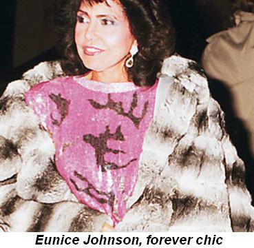 Blog 6 - Eunice Johnson, forever chic