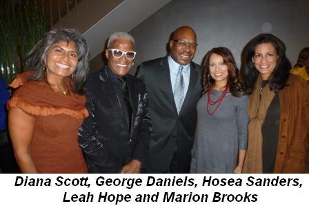 Blog 6 - Diana Scott, George Daniels, Hosea Sanders, Leah Hope and Marion Brooks