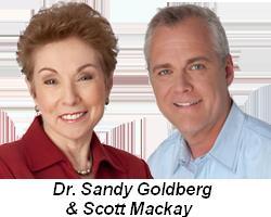 Dr. Sandy Goldberg and Scott Mackay