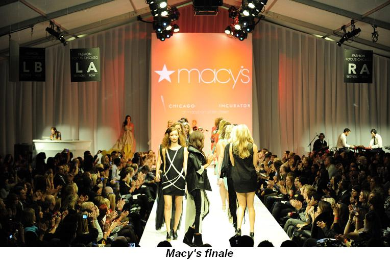 Blog 11 - Macy's finale