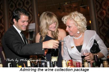 Blog 14 - Admiring the wine collection package
