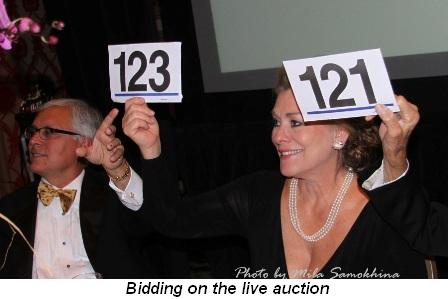 Blog 22 - Bidding on the live auction