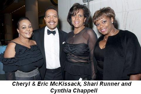 Blog 9 - Cheryl and Eric McKissack, Shari Runner, Cynthia Chappell