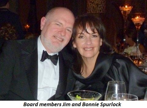 Blog 5 - Board members Jim and Bonnie Spurlock