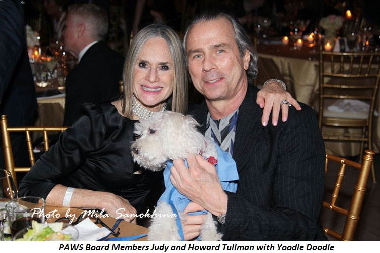 Blog 8 - PAWS Board Members Judy and Howard Tullman