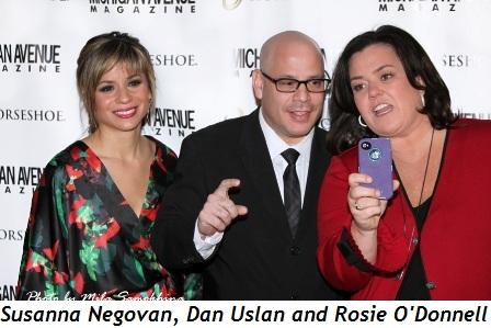 Blog 1 - Susanna Negovan, Dan Uslan and Rosie O'Donnell